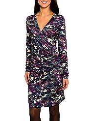SMASH Avelina Vestido Con Escote En V-A1682335, Robe de Chambre Femme