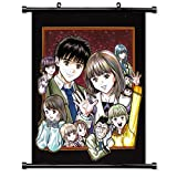 Aizu Anime Fabric Wall Scroll Poster (16x21) Inches