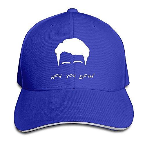 WefyLtesnhd Cap Hat Custom How You Doin Adjustable Sandwich Hunting Peak Hat & Cap Bmw-sandwich-cap