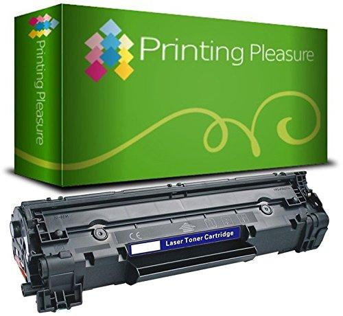 Printing Pleasure Tóner Compatible con HP Laserjet Pro MFP M225 M125 M126 M127 M128 M201 M202 Serie | CF283A 83A