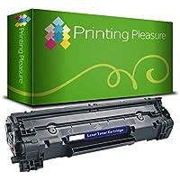 Printing Pleasure CF283A 83A Toner Compatibile per HP LaserJet Pro M201dw M201n MFP M125nw M127fn M127fw M225dn M225dw M125a M127fp, Nero