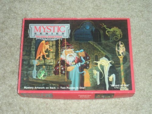 Mystic Series Two SIded Jigsaw Puzzle Wizard of Odd, 513 pieces by Mystic Series - Mystic Series