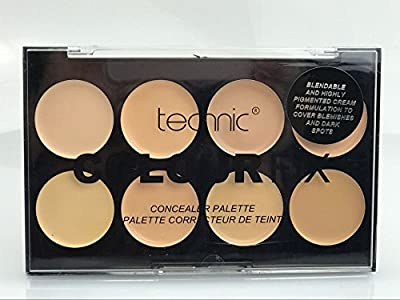 Technic Colour Fix 8 Colours Concealer Palette - Light from LyDia Beauty