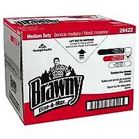 Georgia-Pacific Brawny Dine-A-Max 29422 Yellow All Purpose Food Preparation and Bar Towel (HEF 1/4 Fold), 13