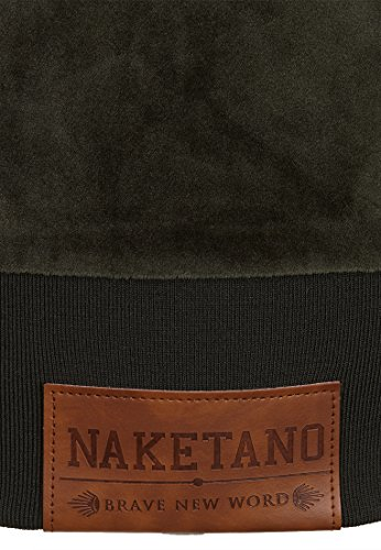 Naketano Female Zipped Jacket Brazzo Mack Dark Olive