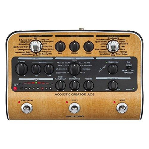 Zoom AC-3Pedal Stereo für Akustikgitarre