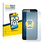 2X BROTECT HD Clear Bildschirmschutz Schutzfolie für ZTE Grand S3 (kristallklar, extrem Kratzfest, schmutzabweisend)