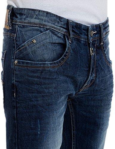 Timezone - CostelloTZ, Jeans da uomo Blu (blue patriot wash 3624)