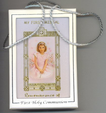 MY FIRST MISSAL- Remembrance of First Holy Communion. - GIRL