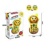 Spielzeug für 9 Monate alt Baby, Musical Spielzeug für 1-2 Jahre alt Baby Geschenk für 10-18 Monate alt Kleinkind Jungen lernen Spielzeug Telefon für 5-9 Monate Baby Geburtstagsgeschenk für Sohn Mädchen Spielzeug