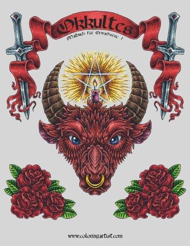 Okkultes Malbuch für Erwachsene 1