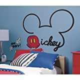 Thedecofactory Mickey Mouse – 80 x 60–10 Aufkleber montiert