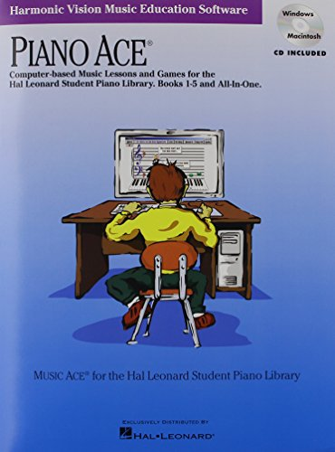 Piano Ace: Computer-Based Music Lessons and Games for the Hal Leonard Student Piano Library Books 1-5 and All-in-one