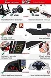 Sportstech F31 Profi Laufband mit innovativer Selbst-Schmier-Funktion & App Steuerung für Smartphone MP3 AUX Bluetooth 4PS 16km/h - klappbar und kompakt verstaubar (F31 - Aufgebaut) - 8