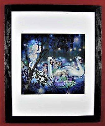 0x 50Forest Feen Sommer Swan Ride g1954-247 ()