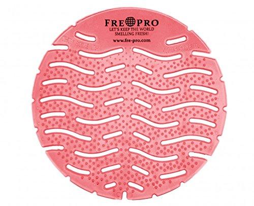 Urinalsieb Geruchsneutralisator rund , Kiwi Grapefruit , m. Kalenderfunktion , wohlriechend , kleinee Spitzen / Sprossen zur Vermeidung des Anti-Splash Effects , Verringerung der Schmutzablagerung Reinigungszeitverkürzung 100 % recyclebar , Urinal , Pissoir , Fre-Pro , Frepro, Fresh Products , Fre Pro , Sieb , Einlage , Spritzschutz , Pissoire , Pissoireeinsatz , Lufterfrischer Pink Mit Einem Splash