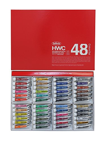 Holbein Wc W409 Set Of 48 5Ml Tubes - Wc Tube