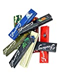 Smoking King Size Papers Probierset groß - 5x5 verschiedene Kingsize Zigarettenpapiere - head&nature Papers-Shop