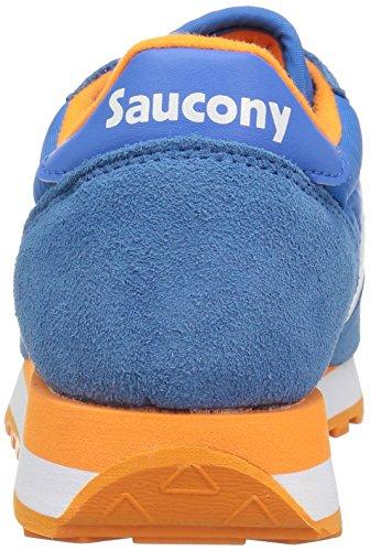 Saucony Jazz Original, Scarpe da Ginnastica Donna Blu (Blu/Orange)