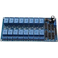 Youn NEUF 16canaux 5V12V module de relais pour Arduino Pic AVR MCU DSP Arm PLC