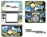 Vanknight Vinyl-Aufkleber für Nintendo 3DS XL 2015, Anime My Neighbor Totoro
