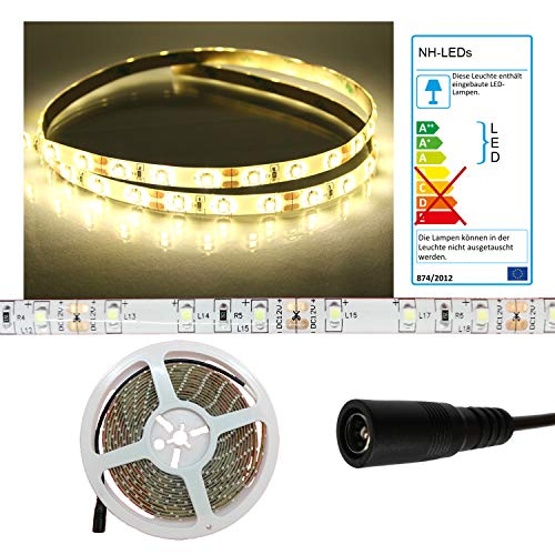 LED Streifen Strip WARMWEISS wasserdicht ca. 5 m 300x LEDs PCBw