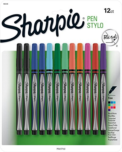 sanford-ink-sharpie-pens-stylo-fine-1-assorted-colors