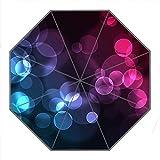 Kundenspezifischer faltbarer Umbrella Diy personifizierter Vertr?umte Punkte Entwurfs-beweglicher Reise-Regenschirm f¨¹r Sonne und Regen