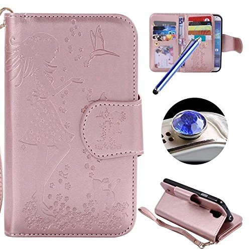 galaxy-s4-leather-casesamsung-galaxy-s4-wallet-caseetsue9-card-slotspressed-girl-flower-cat-bird-pat