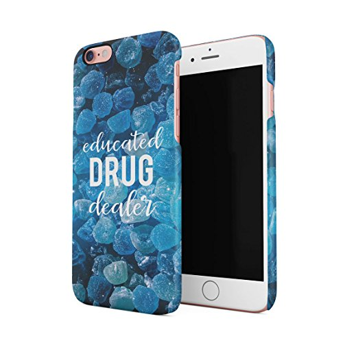 Programmer Organism That Converts Caffeine Into Code Custodia Posteriore Sottile In Plastica Rigida Cover Per iPhone 6 & iPhone 6s Slim Fit Hard Case Cover Drug Dealer