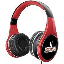 Auriculares para niños de KidRox | Auriculares para niños RS4 | Volumen limitado y ajustable |