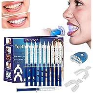 Teeth Whitening Kit,Home Teeth Whitening Kit,Teeth Whiten Gel Kit,White Dental Care GEL Tooth Bleaching Kit,Reusable Dental Whitening Kit,Teeth Whitening to Yellow Teeth and Smoke Marks Black Teeth