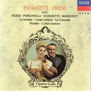 Pavarotti / Freni - Live