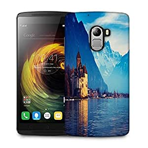 Snoogg Lake Geneva Designer Protective Phone Back Case Cover For Lenovo Vibe K4 Note