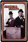 Blechschild Laurel und Hardy Dick und Doof 20 x 30 cm Reklame Retro Blech 718