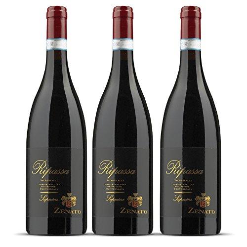 Zenato Vino Ripassa Valpolicella Ripasso Superiore - 3 confezioni da 750 ml