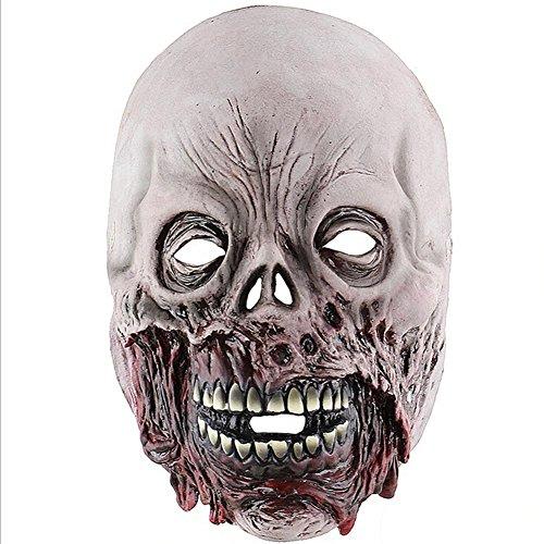 IrahdBowen Halloween Masken Horror Biochemische Gasmaske Scary Spukhaus Room Escape Umwelt- und ungiftig Maskenfestivals Kostüm Ball Masken Fancy Dress Party Maske