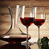 XBJBPL Rotweingläser/Sektgläser/Rotweinglas,Aliexpress Freies Verschiffen Künstliche Bleifreie Kristall Hochzeit Wein Glas Teil Rotwein Glas Kristall Glaswaren 440 Ml, Klar