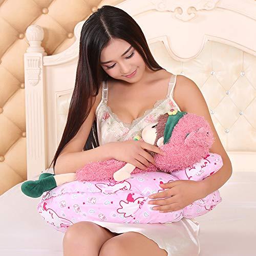 XBR Grand Oreiller de maternité, Soutien pour Femme Enceinte ou Qui allaite, Oreiller en Forme de U, Oreiller de Soutien de Corps de première qualité pour Grossesse/maternité