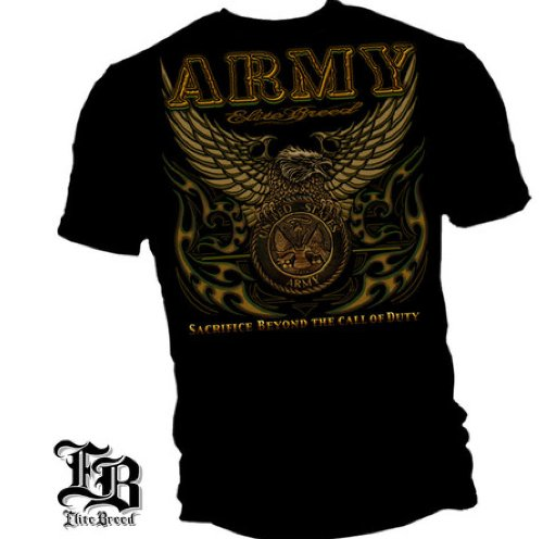 watch 8ed2a fc98f US Army – Elite BREED – Military T-shirt, Enfant Homme, ...