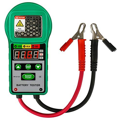 ACAMPTAR Fischartigdy225 Auto Batterie Tester Analysator 6V/12V Dc Automotive Widerstand Test Auto Für Elektrische Batterie Speicher Marine