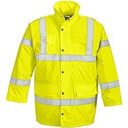 HTR 2640–4x L-9000tamaño 4X -LARGE Parka de alta visibilidad–amarillo