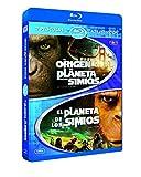 El Origen Del Planeta De Los Simios + El Planeta De Los Simios (1968) [Blu-ray]