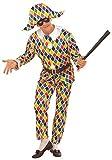 Costume Adulto Arlecchino Taglia S