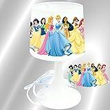 KIKOUCAT Einrichtung, Disney Prinzessinnen-Nachttischlampe, zum Aufstellen