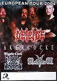 DEICIDE - 2004 - Tourplakat - Akercocke - Mystic Circle - European - Tourposter