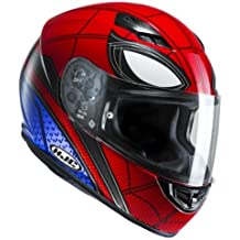 HJC casco Moto CS 15 Spiderman Home Coming, rojo/azul, ...