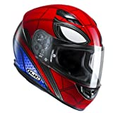 HJC casco Moto CS 15 Spiderman Home Coming, rojo/azul, talla M