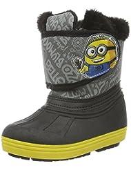 Minions Boys Kids Snowboot Booties - botas y botines de tacón bajo Niños