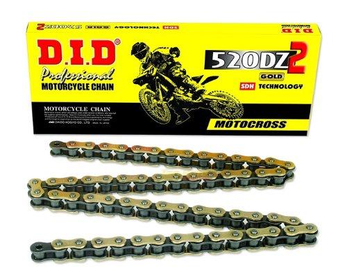 D.I.D DID 520DZ-120 Goldkette mit Verbindungsglied (120 Glieder)